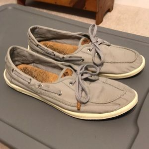 Sperry Canvas Shoe Grey Size 9